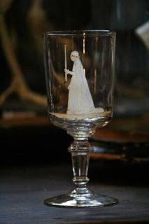 ghost in a glass