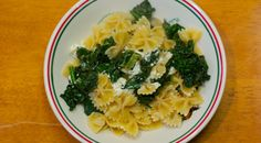 Meatless Monday: Lemon Pasta with Kale and Goat Cheese | Al Dente: A Blog About Eating