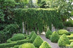 Сад Карла и Марии Артмайер в Германии | Ландшафтный дизайн садов и парков