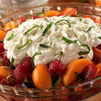 Fresh Seasonal Fruit with Mascarpone Cream (Olive Garden recipe)