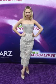 Kelli Berglund Photos - Kelli Berglund, attends the 'Now Apocalypse' Los Angeles Premiere at Hollywood Palladium on February 2019 in Los Angeles, California. - New Starz Series 'Now Apocalypse' Premiere - Arrivals Strapless Dress Formal, Prom Dresses, Formal Dresses, Kelli Berglund, Starz Series, Disney Girls, Girl Crushes, Apocalypse, Actors & Actresses