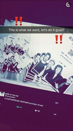Lets make #MadeInTheAM their BIGGEST album yet! ♡<< new big project y'all tweet it instagram it tumbler it...ect.
