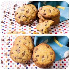 Cookies de Gotinhas de Chocolate - Receitas de Biscoito - I COULD KILL FOR DESSERT