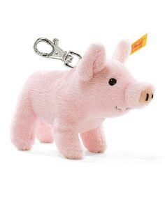 Love this Pink Piglet Plush Key Chain on #zulily! #zulilyfinds