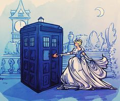 Image result for Ariel meets Doctor Who