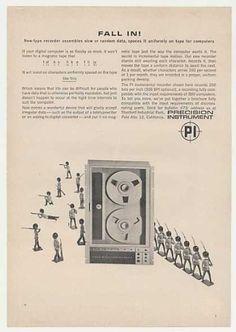 Precision Instrument PI Computer Tape Recorder (1963).