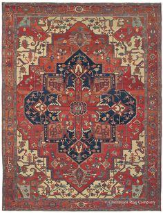SERAPI - Northwest Persian 9ft 10in x 13ft 0in Circa 1900