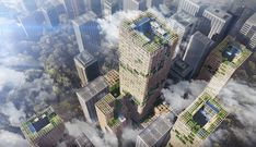Architecture firm unveils plans for world's tallest wooden skyscraper in Japan - Japan Today