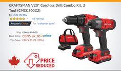 Cordless Drill, Craftsman, Kit, Tools, Cordless Power Drill, Artisan, Instruments