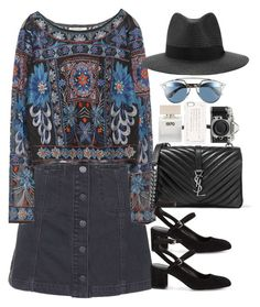 """""""Untitled #1998"""" by roxy-camarena on Polyvore featuring Topshop, Zara, Yves Saint Laurent, Rebecca Minkoff, Marc by Marc Jacobs, Christian Dior, rag & bone, Bella Freud and Nikon"""