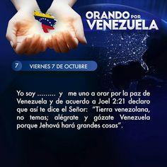 Orando por Venezuela día 7