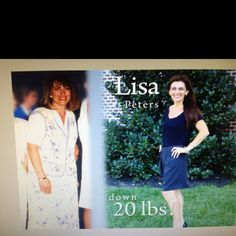 This is my before and after picture! I praise God for the faith based weight loss program, the Weigh Down Workshop! Check it out, www.weighdown.com