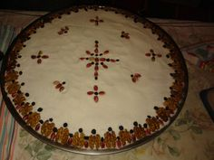 ΔΙΑ ΧΕΙΡΟΣ ΠΑΤΡΟΣ ΕΠΙΦΑΝΕΙΟΥ Algerian Recipes, Greek Recipes, Decoupage, Food And Drink, Chocolate, Holiday Decor, Cooking, Cake, Christianity