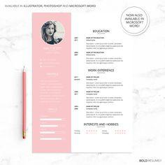 Curriculum Vitae creativo profesional para Photoshop, Illustrator y Microsoft…