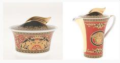 Versace Medusa Porcelain Creamer