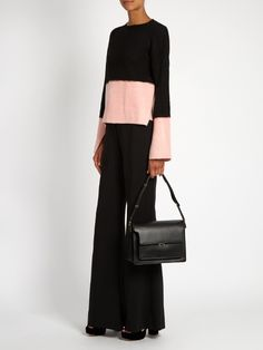 Marni Trunk large leather shoulder bag 5,515