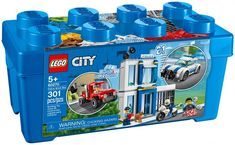 Everything kids need for crook-catching adventures! Lego City Police Sets, Police Cars, Building Sets For Kids, Building Toys, Prison, Discount Toys, Construction Lego, Lego Trains, Lego For Kids