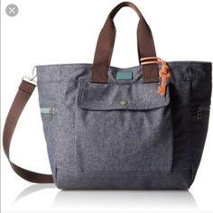 Fossil Handbags - Fossil Dawson denim tote bag