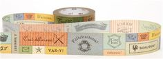 wide mt Washi Masking Tape deco tape French wishes