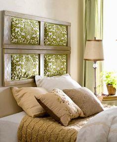 balbina: Ideas para cabeceras de cama                              …