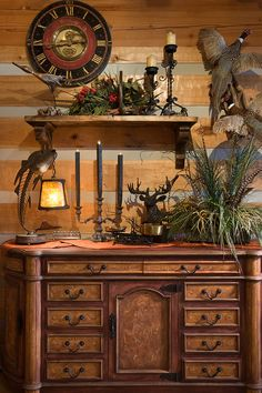 Cabin Fever Lodge Decor On Pinterest Log Cabins Log Homes And Cabin