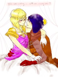 Princess Kenny and CrIg, level 10 thief