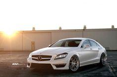 Mercedes CLS 63 Matte White AMG