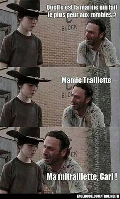 Walking dead blague number 2