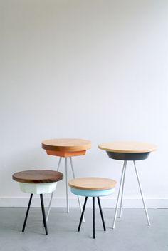 Tripod tables / Matthew Williams
