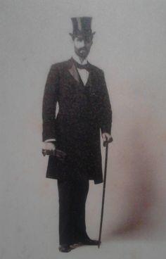 Roger Casement in formal attire.