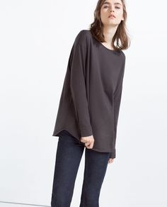 Image 4 of OVERSIZE T-SHIRT from Zara