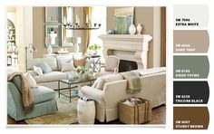 Living Room Paint colors from Chip It! by Sherwin-Williams