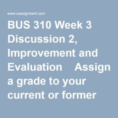 Best Resources for Homework Help: BUS Course. Find BUS Assignment, Discussion Questions, Quiz and Final Exam for USA Students Final Exams, Resource Management, Human Resources, 3 Months, Assessment, Homework, Challenges, This Or That Questions, Finals Week