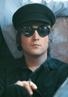 Lennon and the Beatles were always very stylish.