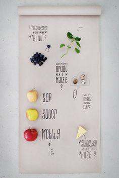 Inspiring Design and Cooking Studio: Mit Essen spielt man