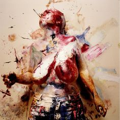 painting with your whole being    Jenny Saville