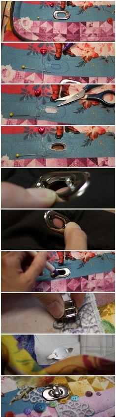 Pepelinchen: How to use: Drehverschluss für Taschen