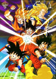 Dragon Ball - Goku makes me happy.