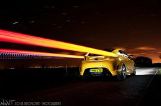Hyundai Veloster Long Exposure light painted by me