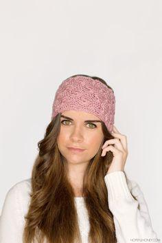 1920's Lace Headband Crochet Pattern
