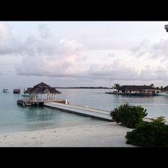Holiday Inn Resort Kandooma Maldives. Photo credit: Twitter user @AUSJCBranch