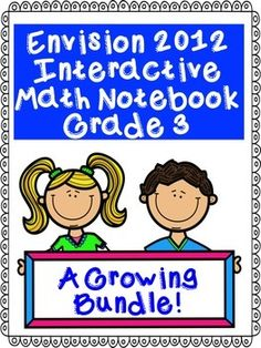 Envision Aligned Grade 3 Interactive Notebook (2012)