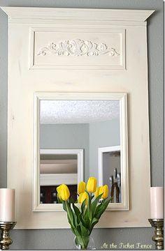 DIY Trumeau Mirror