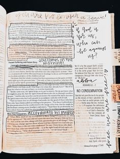 Bible Study Journal, Scripture Study, Bible Verses Quotes, Faith Quotes, Scriptures, Nota Personal, Bible Doodling, Bible Drawing, Bibel Journal