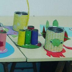 Taller de manualidades Planter Pots, Craft Studios, Constellations, Parties Kids, Activities
