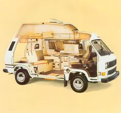 Camper Van Conversion for Beginner - Van Life Vw T3 Westfalia, Vw T3 Doka, T3 Vw, Kombi Motorhome, Campervan, Transporter T3, Volkswagen Transporter, Volkswagen Bus, Vw Lt Camper