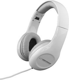 Casti stereo cu fir Soul Esperanza White Headphones, Stereo Headphones, Beats Headphones, Over Ear Headphones, Movies To Watch, Headset, Audio, Leather, Portugal