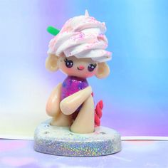 Check out this item in my Etsy shop https://www.etsy.com/uk/listing/530605343/unicorn-frappe-baby-chibi-figurine