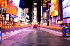 You can never see NY too many times!    Times Square by Oli Haukur, via Flickr