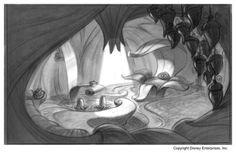 Tinker Bell - Concept art by Michael Spooner